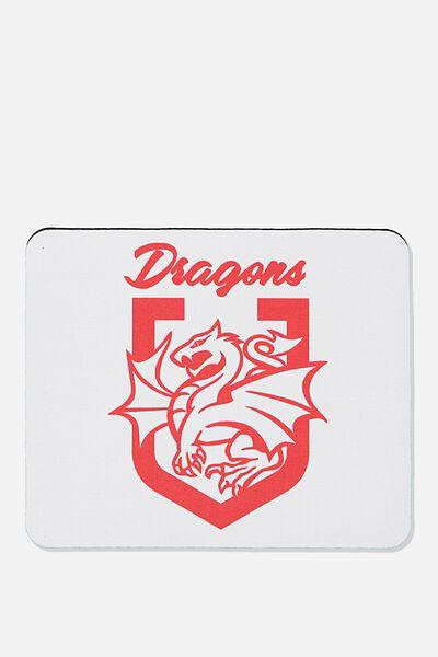 Nrl Shield Mouse Pad, DRAGONS