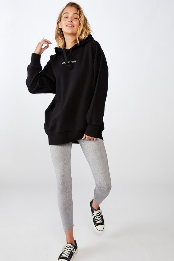 Nrl Womens Embroidered Hoodie, WARRIORS