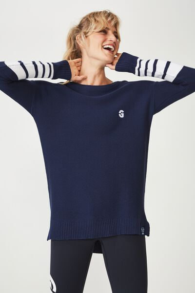 Afl Ladies Archie Knitted Pullover, GEELONG