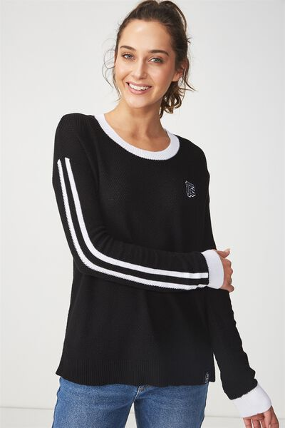 Afl Knitted Pullover, COLLINGWOOD