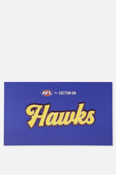 Afl Kids Badge 2 Script, HAWTHORN