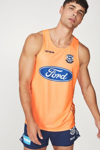 Gfc Training Singlet - Preseason, ORANGE