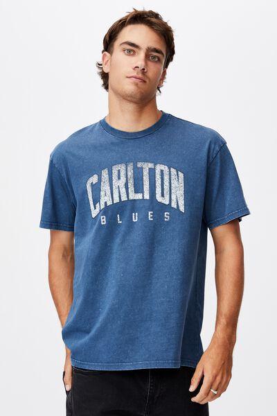 Afl Mens Collegiate T-Shirt, CARLTON