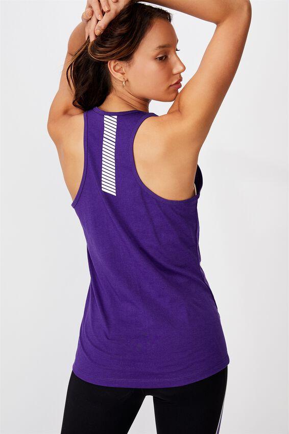 Nrl Ladies Gym Muscle Tank, STORM
