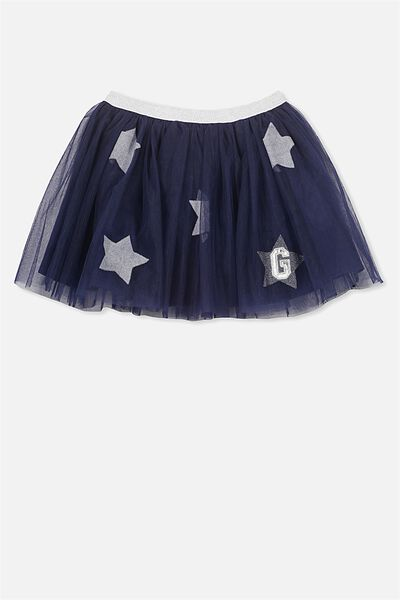 Afl Girls Tulle Skirt, GEELONG