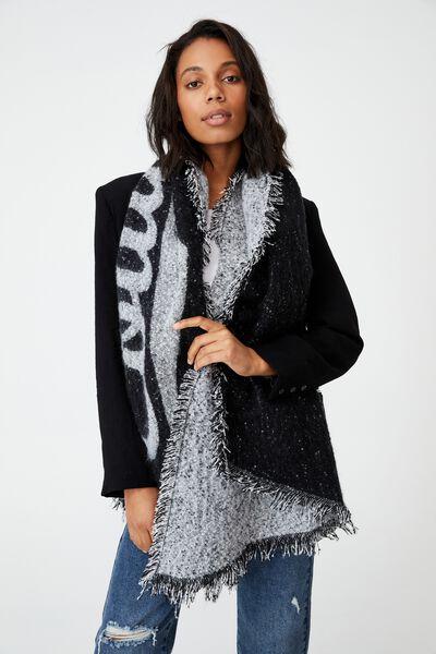 Afl Fashion Wrap, COLLINGWOOD