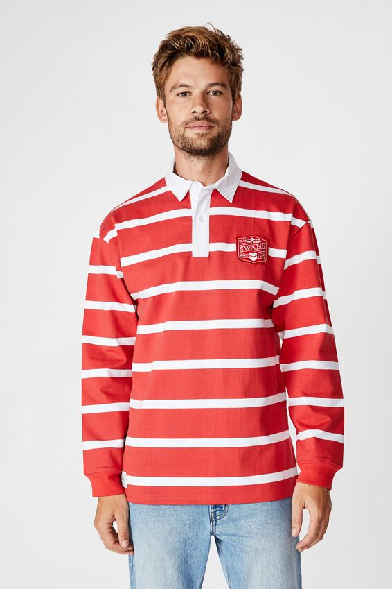 Afl Unisex Old School Rugby Polo, SYDNEY