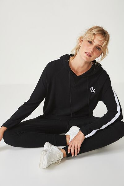 Afl Ladies Supersoft Hoody, COLLINGWOOD