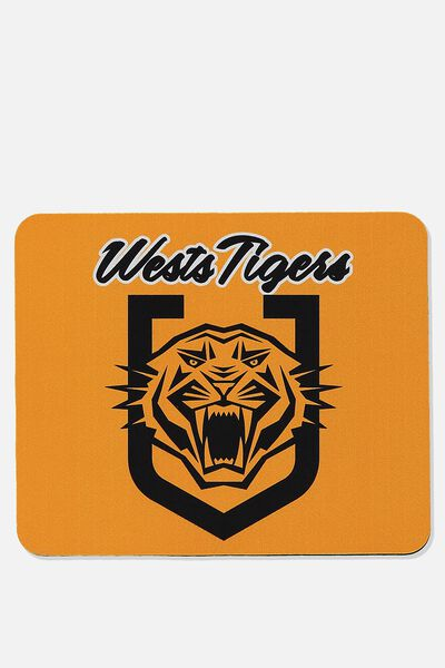 Nrl Shield Mouse Pad, TIGERS