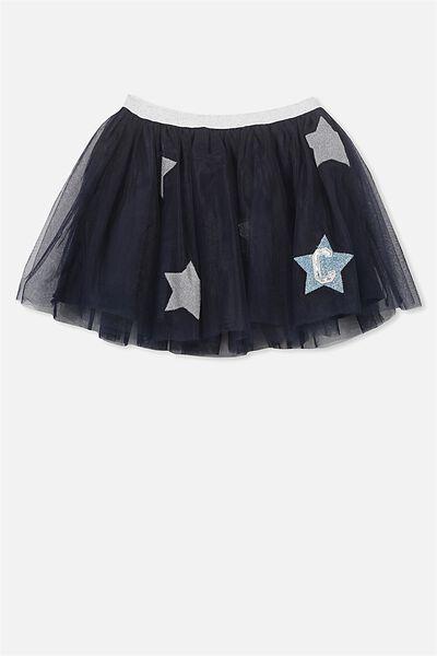 AFL Girls Tulle Skirt, CARLTON