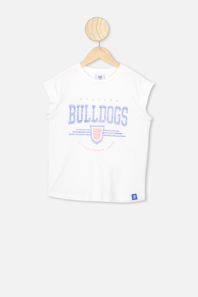 Afl Kids Graphic Tank Top, WESTERN BULLDOGS