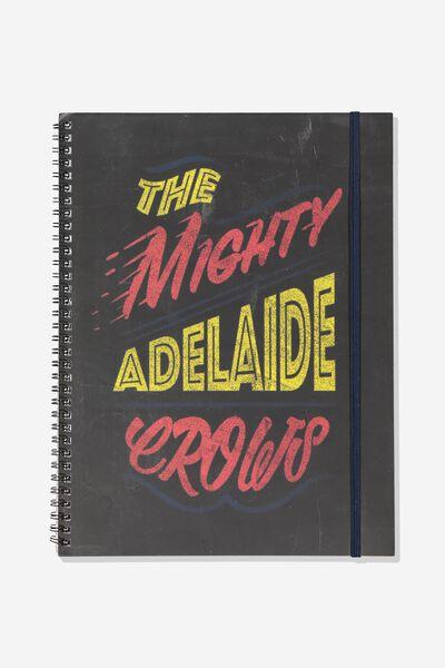 Afl Team Spiral Note Book, ADELAIDE