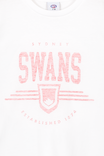 Afl Kids Graphic Tank Top, SYDNEY SWANS