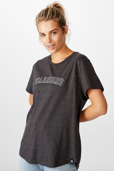 Nrl Womens Graphic T-Shirt, WARRIORS