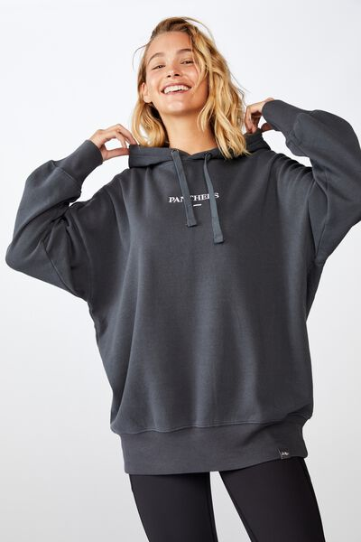 Nrl Womens Embroidered Hoodie, PANTHERS