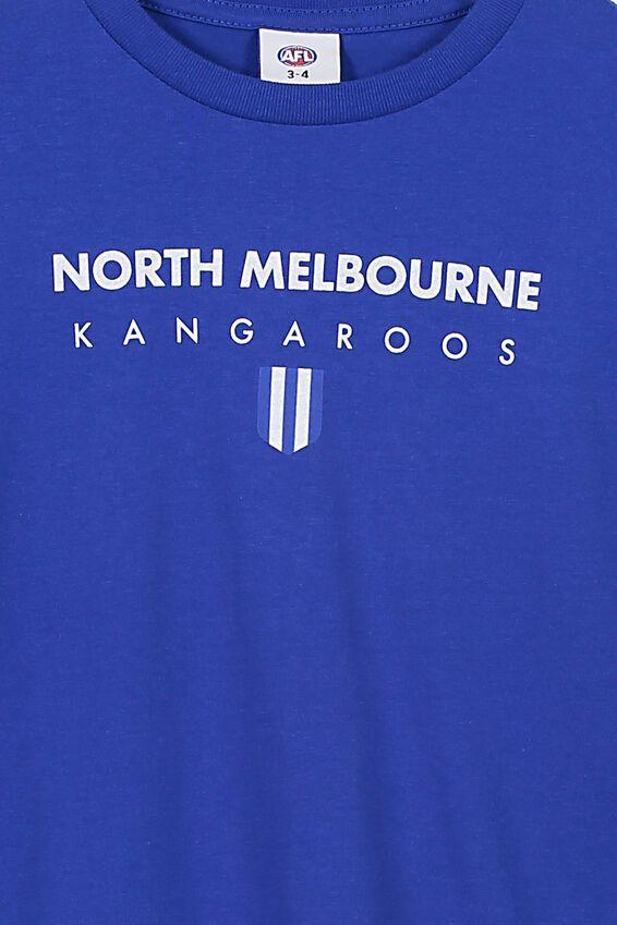 Afl Kids Graphic Long Sleeve, NORTH MELBOURNE