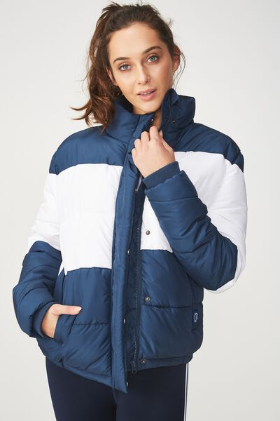 Afl Puffer Jacket, GEELONG