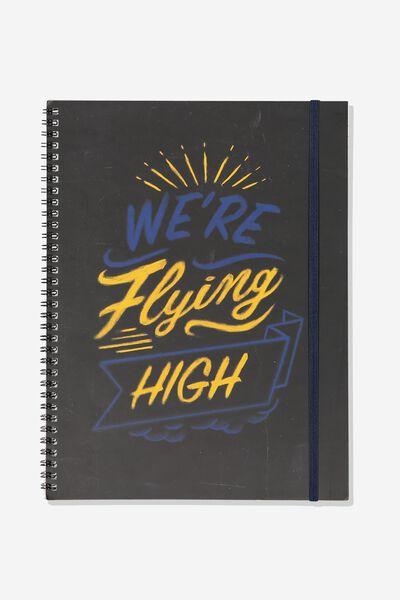 Afl Team Spiral Note Book, WEST COAST EAGLES