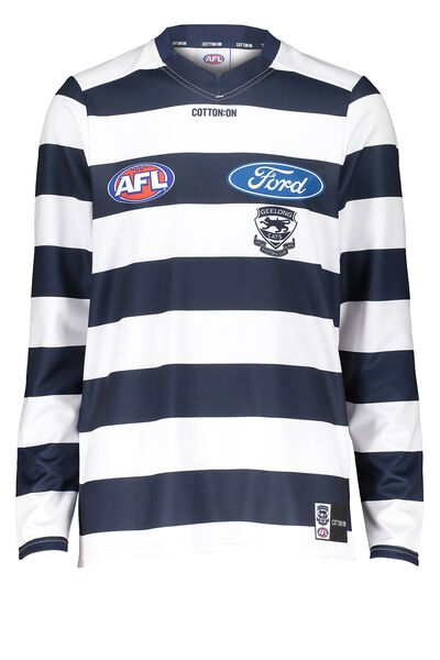 Gfc Retail Adult Guernsey - Home L/S, WHITE
