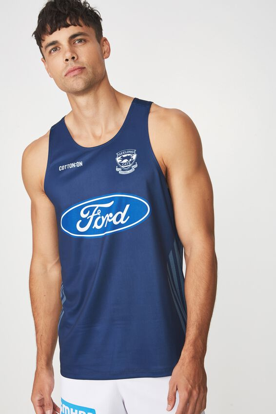 Gfc Training Singlet - Inseason, NAVY