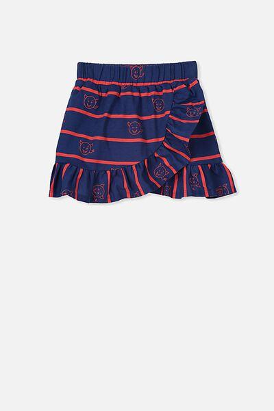 Afl Girls Ruffle Skirt, MELBOURNE
