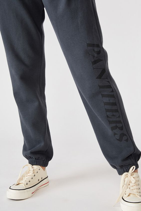 Nrl Womens Old School Track Pant, PANTHERS