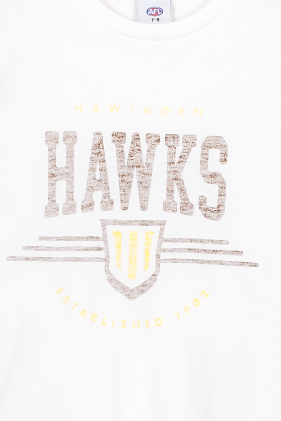 Afl Kids Graphic Tank Top, HAWTHORN