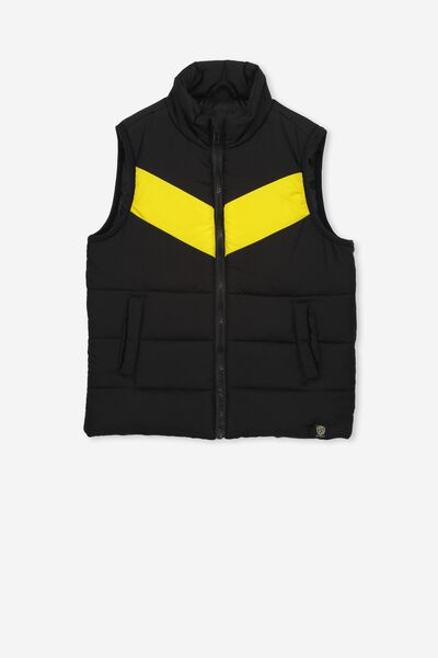Afl Kids Puffer Vest, RICHMOND
