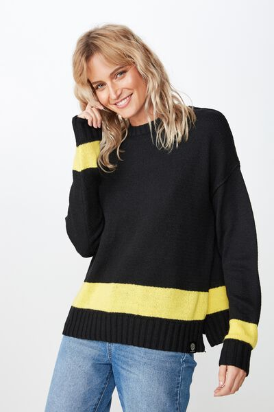 Afl Ladies Knitted Chopped Pullover, RICHMOND