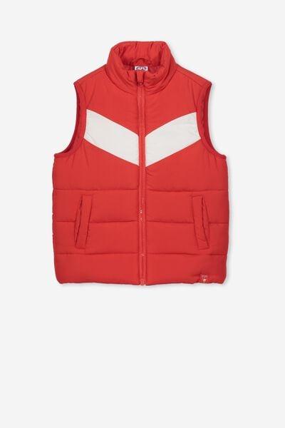 Afl Kids Puffer Vest, SYDNEY