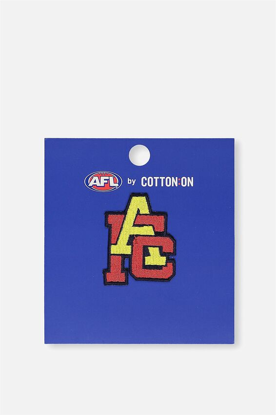 ADELAIDE iron on AFL badge 2 - logo at Cotton On in Brisbane, QLD | Tuggl