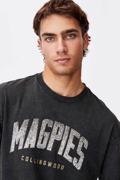 Afl Mens Collegiate T-Shirt, COLLINGWOOD