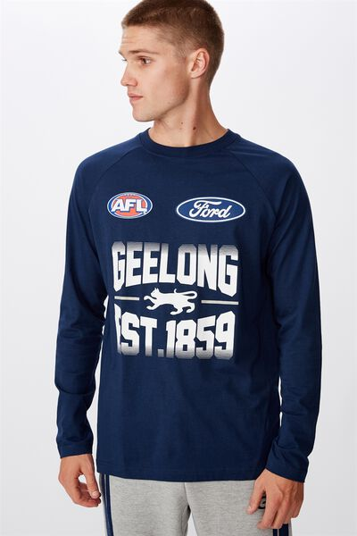 Gfc 2020 Retail Run Out Ls Tee, NAVY