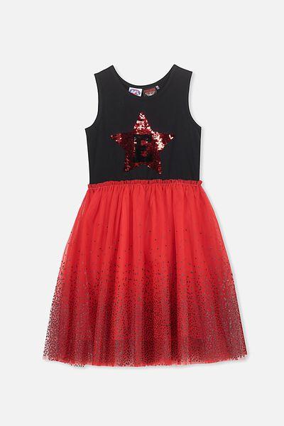 Afl Girls Tulle Dress, ESSENDON