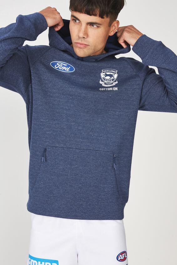 Gfc Tech Fleece Pullover, NAVY TEXTURE
