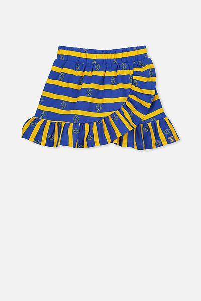 Afl Girls Ruffle Skirt, WEST COAST EAGLES
