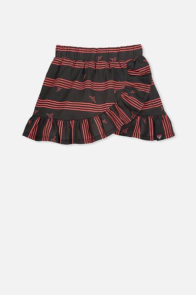 Afl Girls Ruffle Skirt, ESSENDON