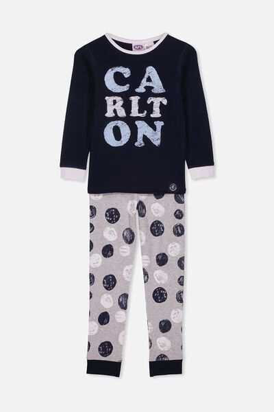 Afl Kids Pj Set, CARLTON