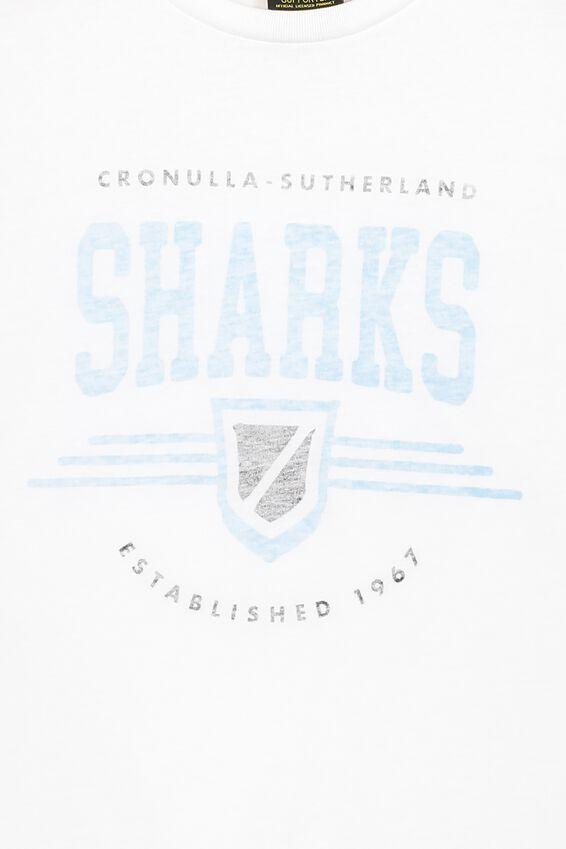 Nrl Kids Graphic Tank Top, SHARKS