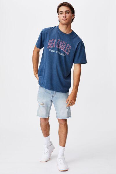 Nrl Mens Collegiate T-Shirt, SEA EAGLES