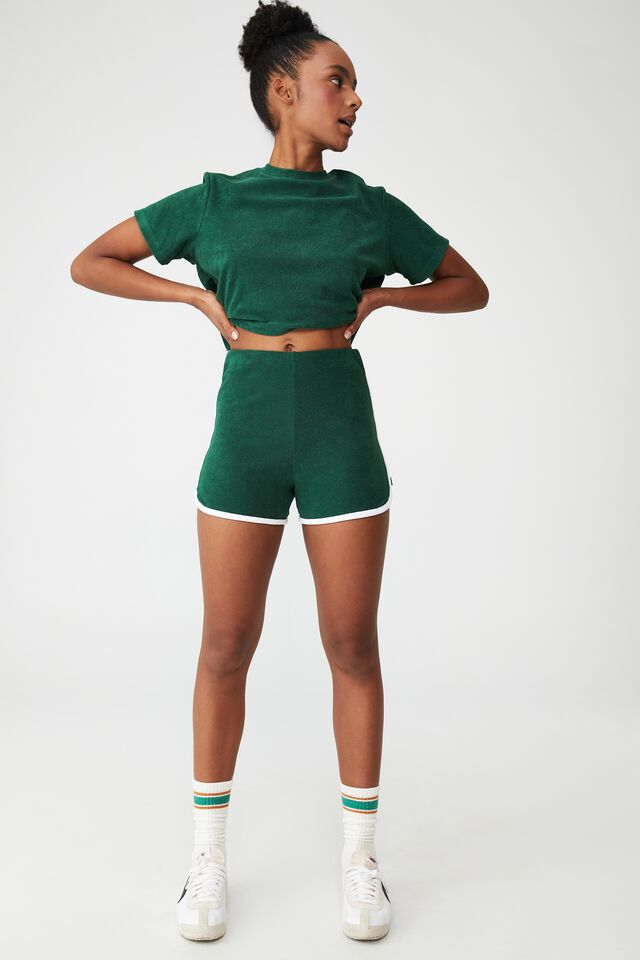 The Sweat To Swim Short, VERDENT GREEN/ WHITE BIND
