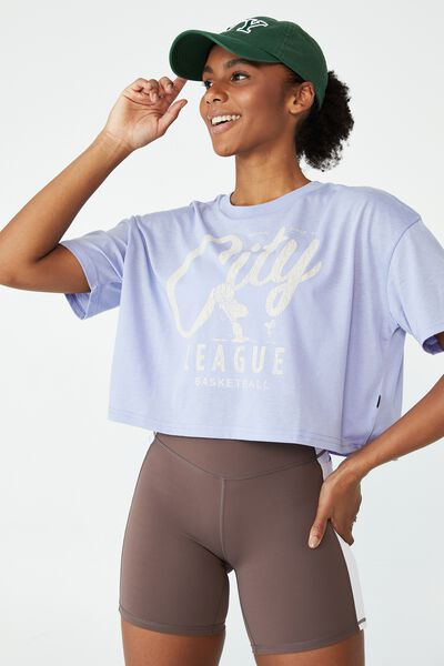 Relaxed Active Graphic T-Shirt, CORNFLOWER/PEANUTS