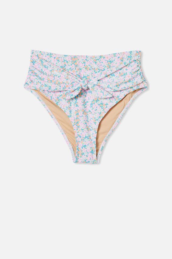 Highwaisted Cheeky Bikini Bottom, MEADOW FIELDS MULTI/TIE