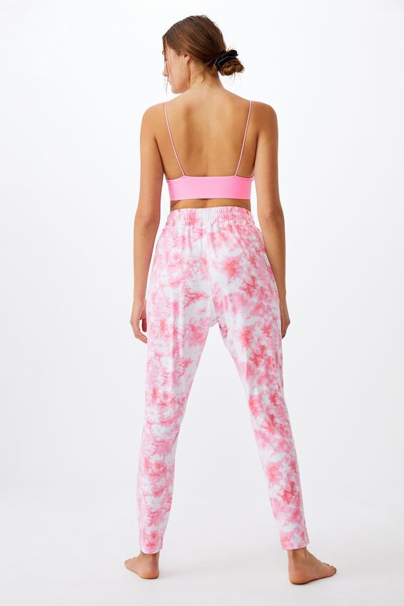 The Lounge Pant, TIE DYE POP PINK