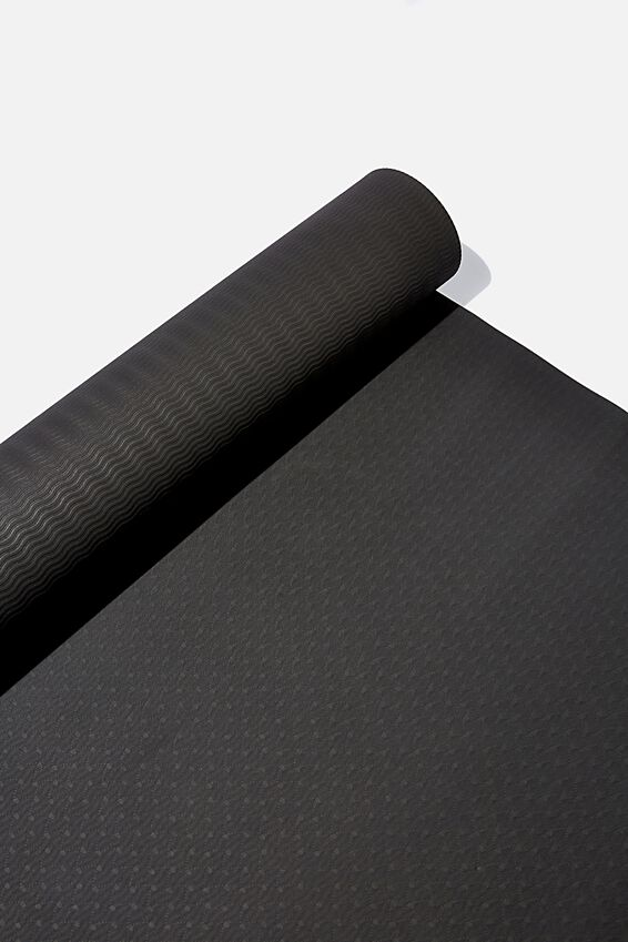 Yoga Mat, BLACK