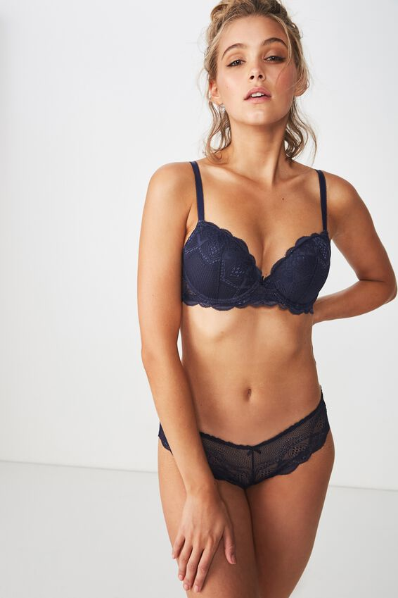 Cindy Contour Bra, MIDNIGHT