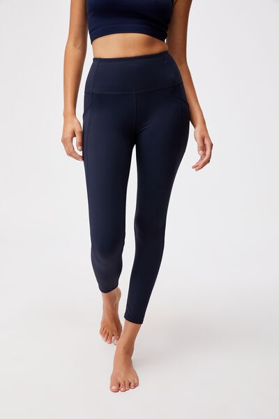 Ultimate Booty 7/8 Tight, NAVY