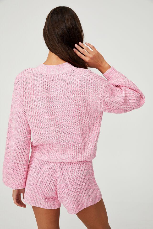 Organic Cotton Knit Lounge Short, PRIMROSE MARLE