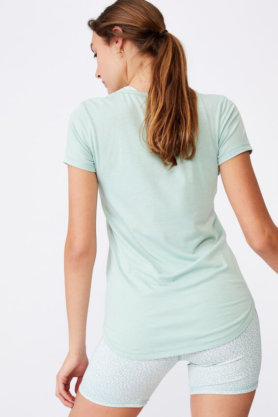 Gym T Shirt, MINT CHIP