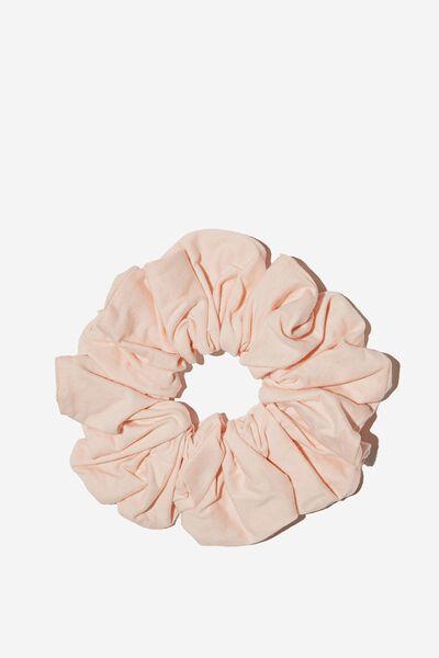 Organic Cotton Super Scrunchie, MARSHMALLOW PINK
